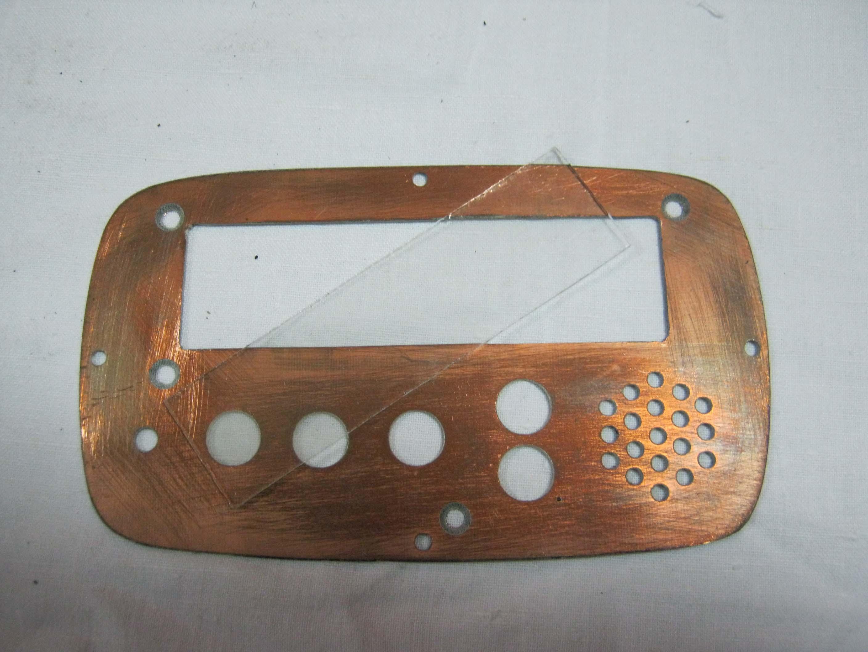 Изготовление лицевых панелей приборов своими руками